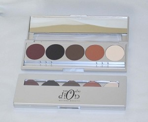 Professional 5 Color Eye Shadow Palette